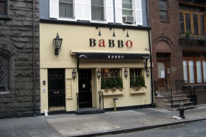Babbo Ristorante, New York, NY